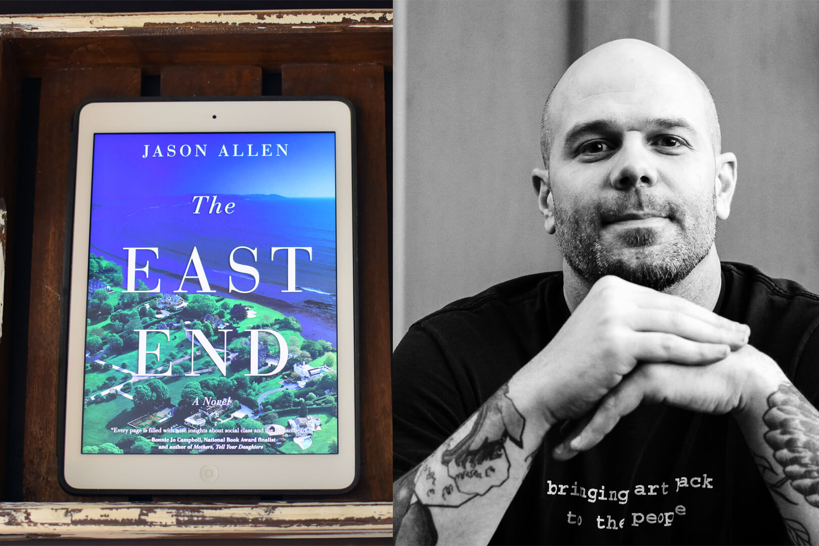 The East End Jason Allen Author Q&A - Book Club Chat