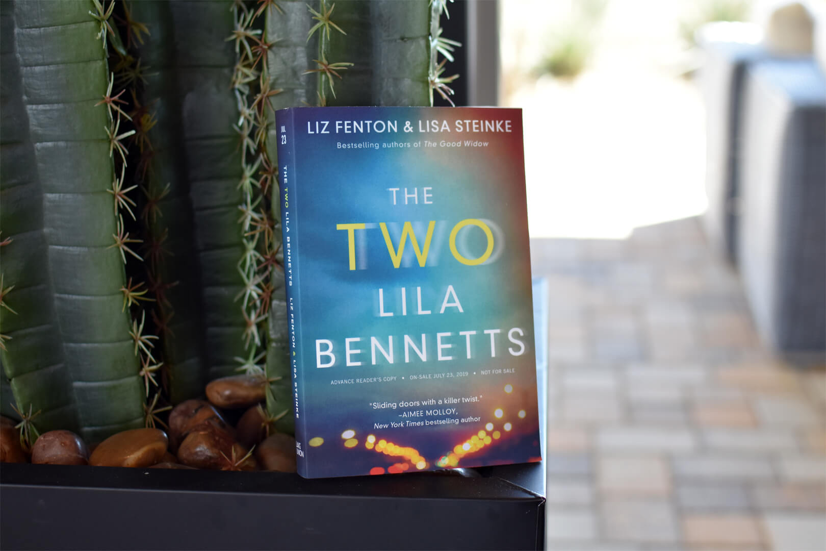 Book Club Questions The Two Lila Bennetts Cover