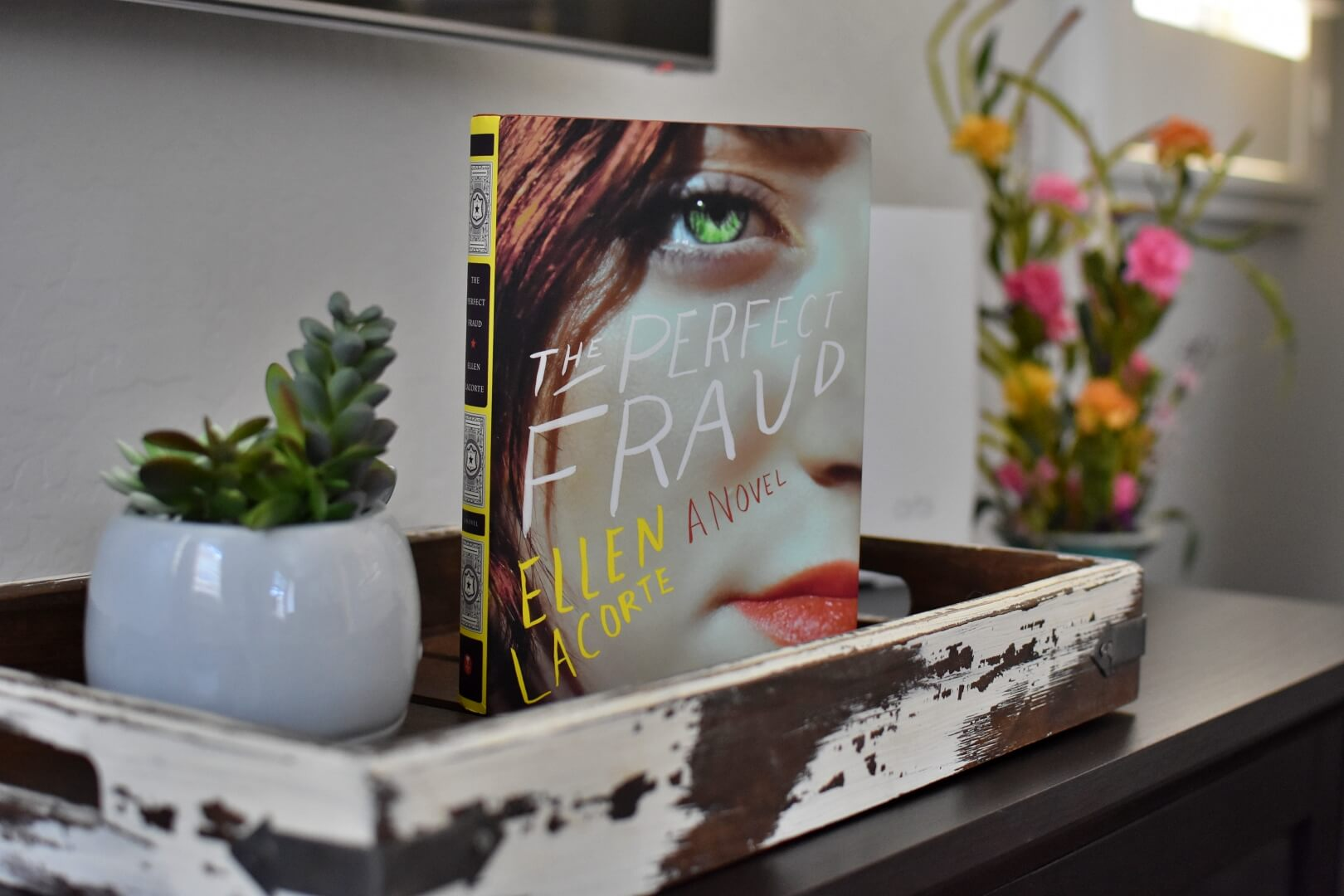 Book club questions for The Perfect Fraud by Ellen LaCorte.