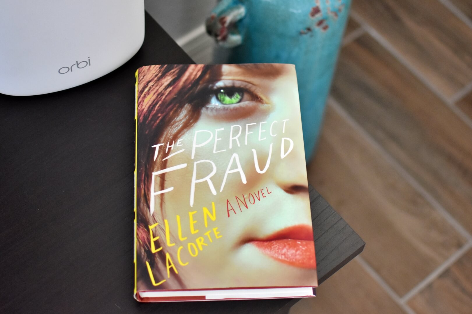Book cover for The Perfect Fraud - review for Book Club Chat