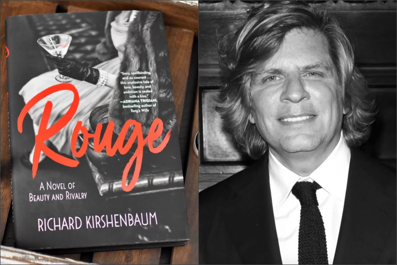 Rouge Author Richard Kirshenbaum Interview - Book Club Chat