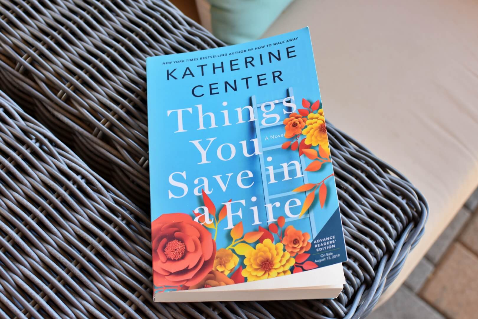 Things You Save in a Fire - Book Club Chat - Review
