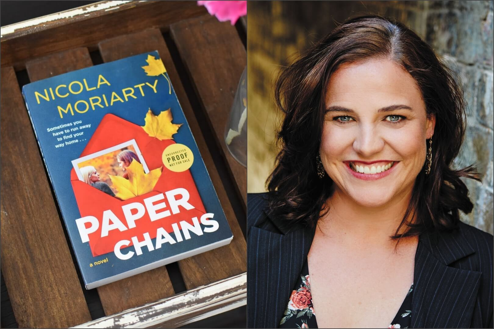 Paper Chains Author Nicola Moriarty Interview - Book Club Chat