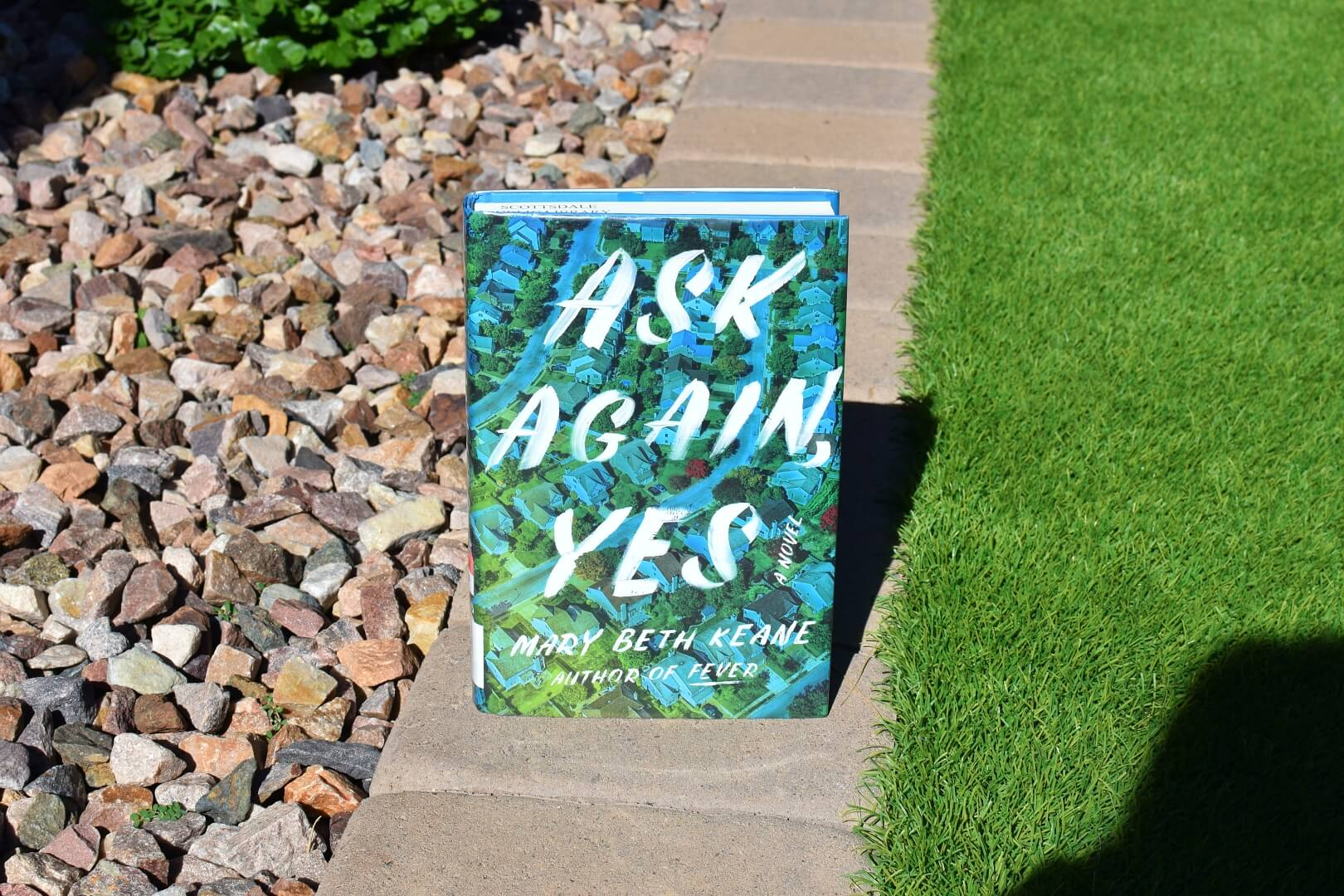 Review Ask Again Yes - Book Club Chat