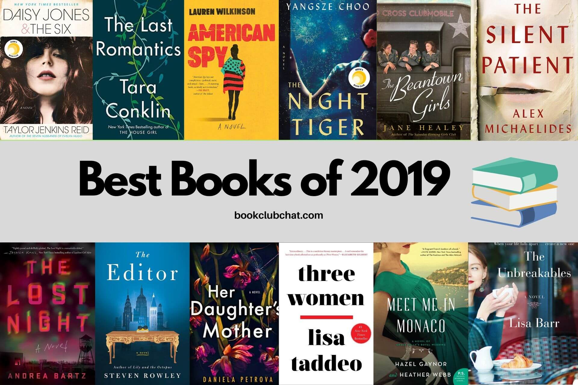 best books of 2019 - book club chat