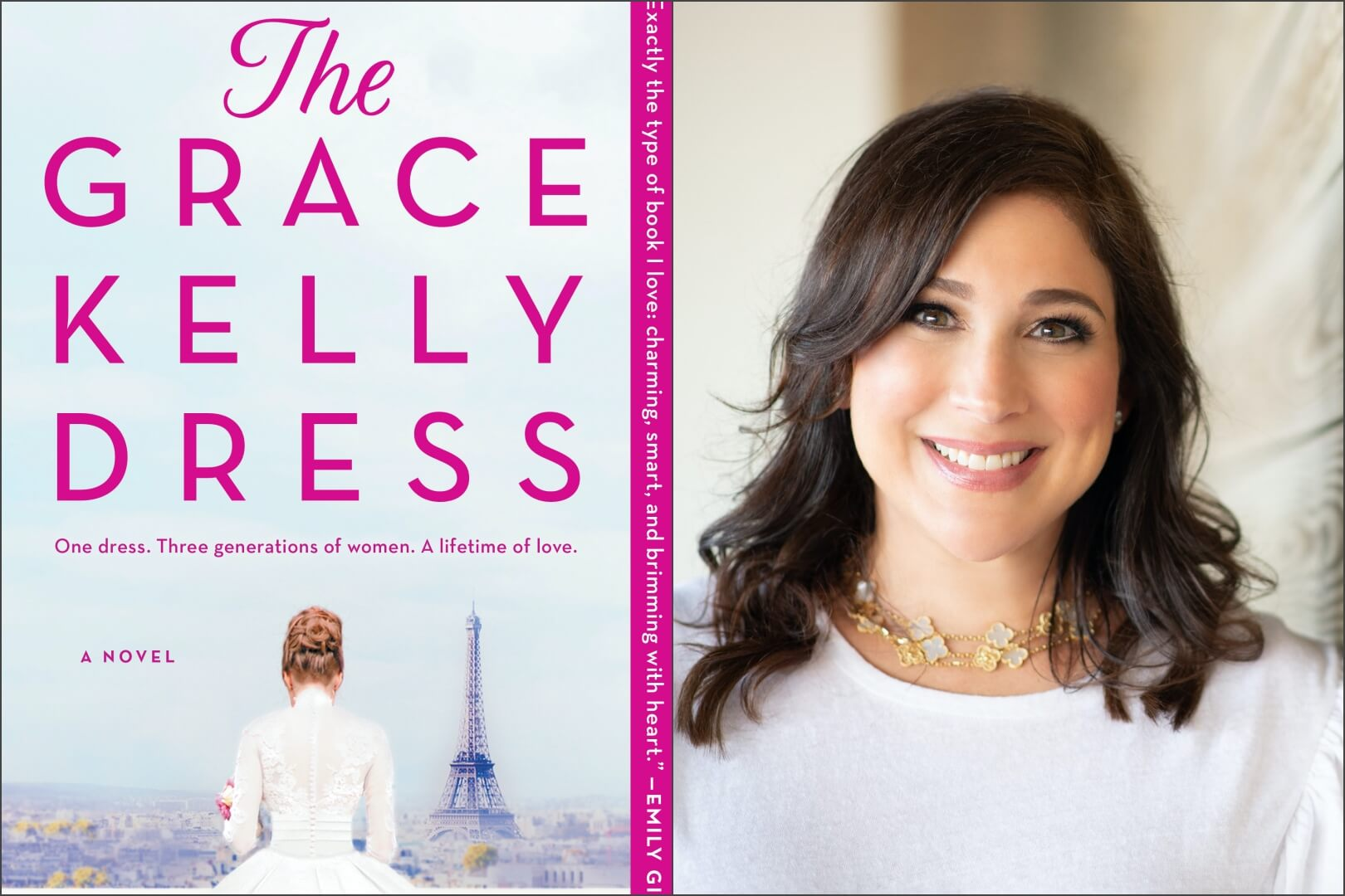brenda grace kelly dress - book club chat