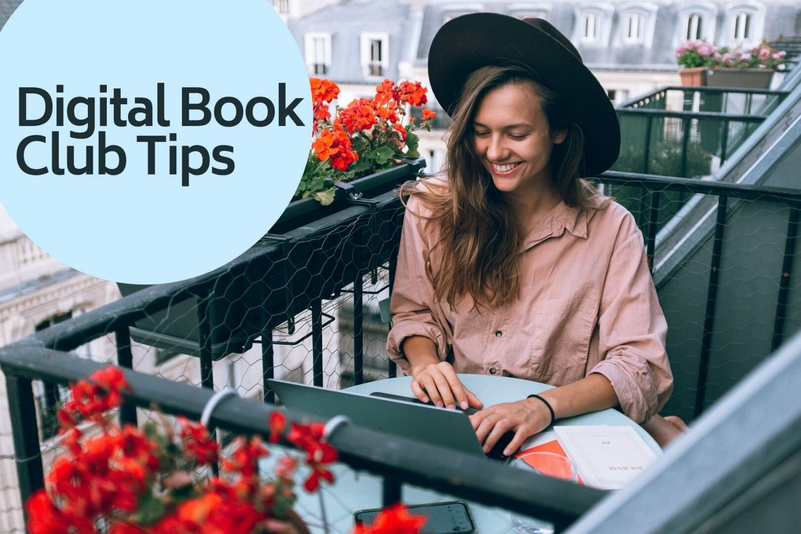 digital book club tips - book club chat