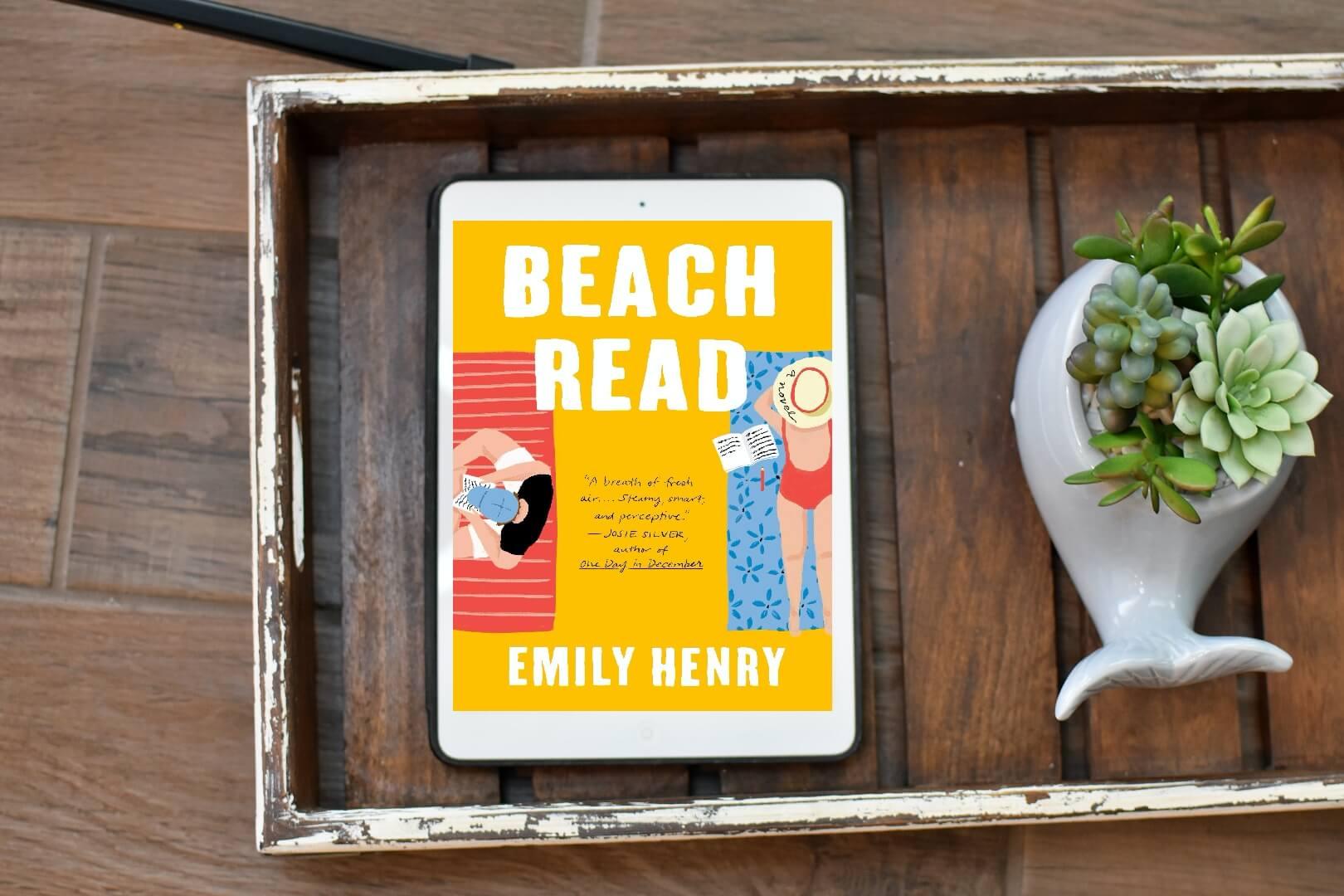 beach read book club questions - book club chat
