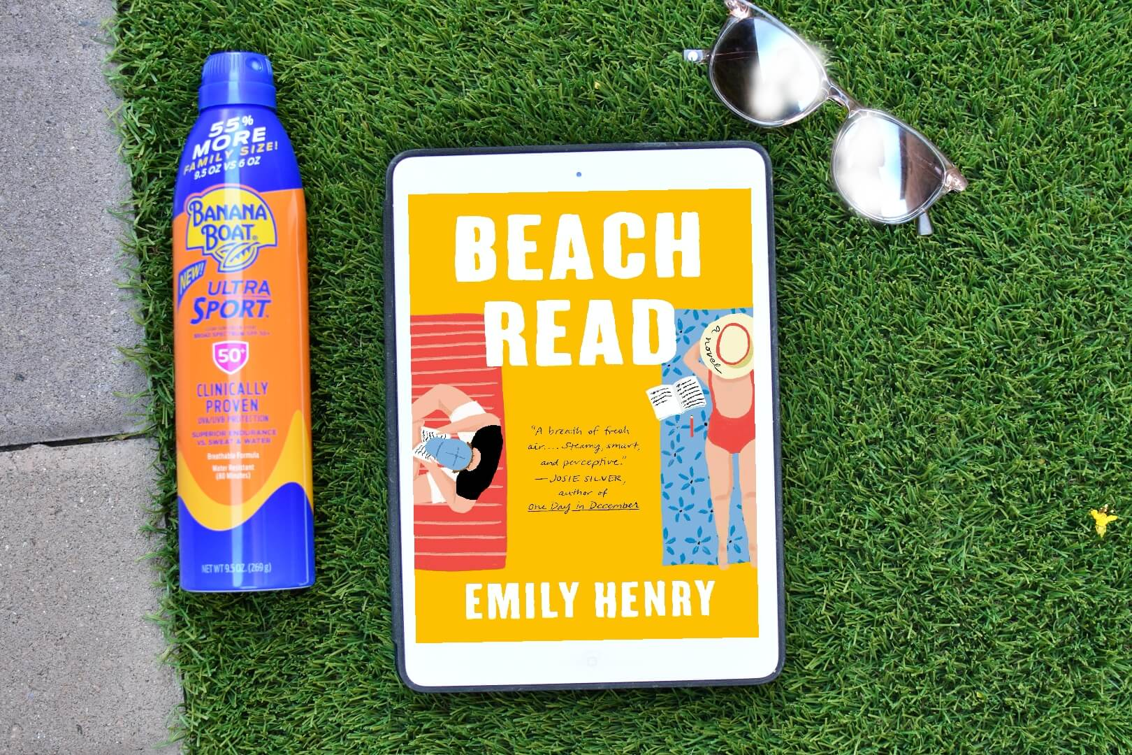 beach read review - book club chat