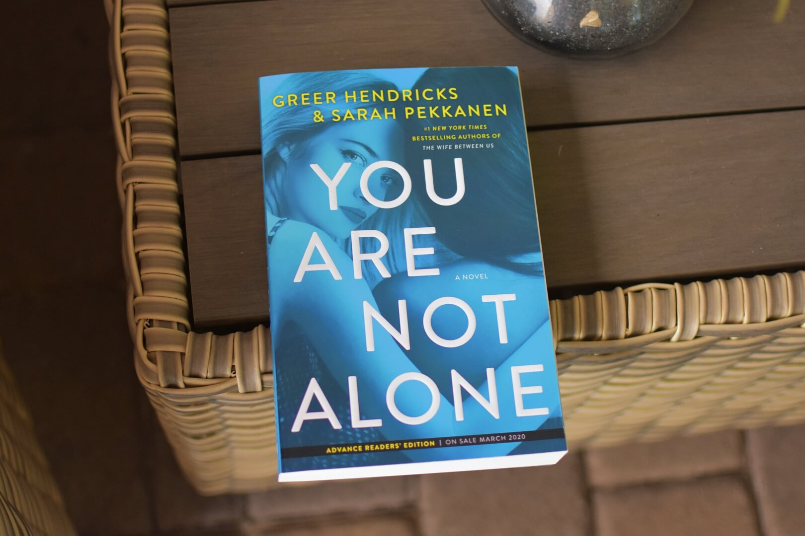 book review - you are not alone - book club chat