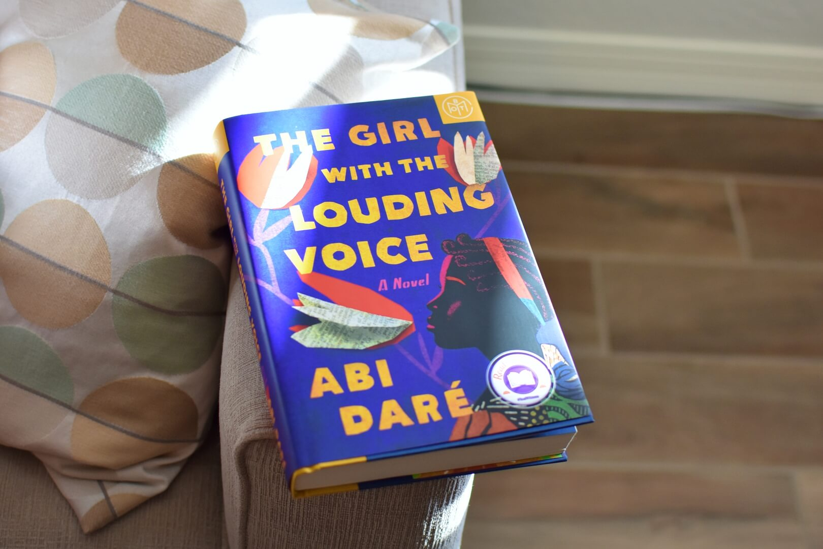 review the girl with the louding voice - book club chat