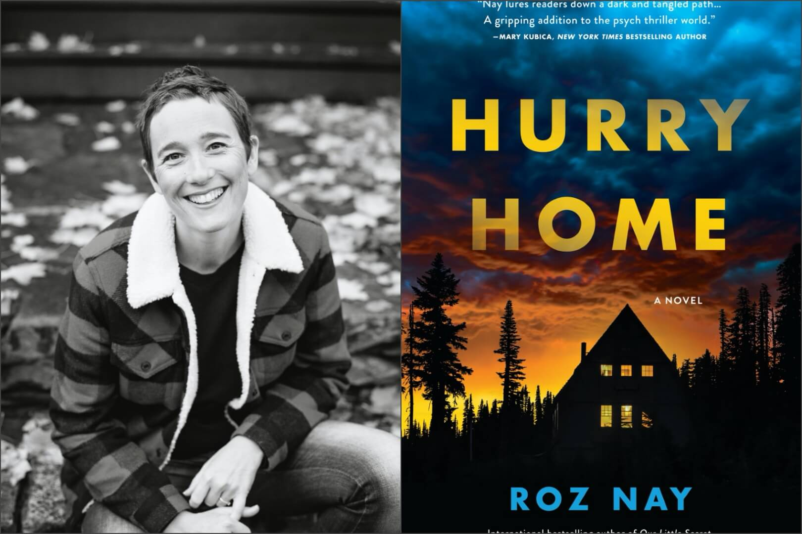 roz nay - interview - book club chat